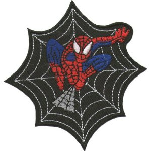 "iron on patch ""Spiderman"""